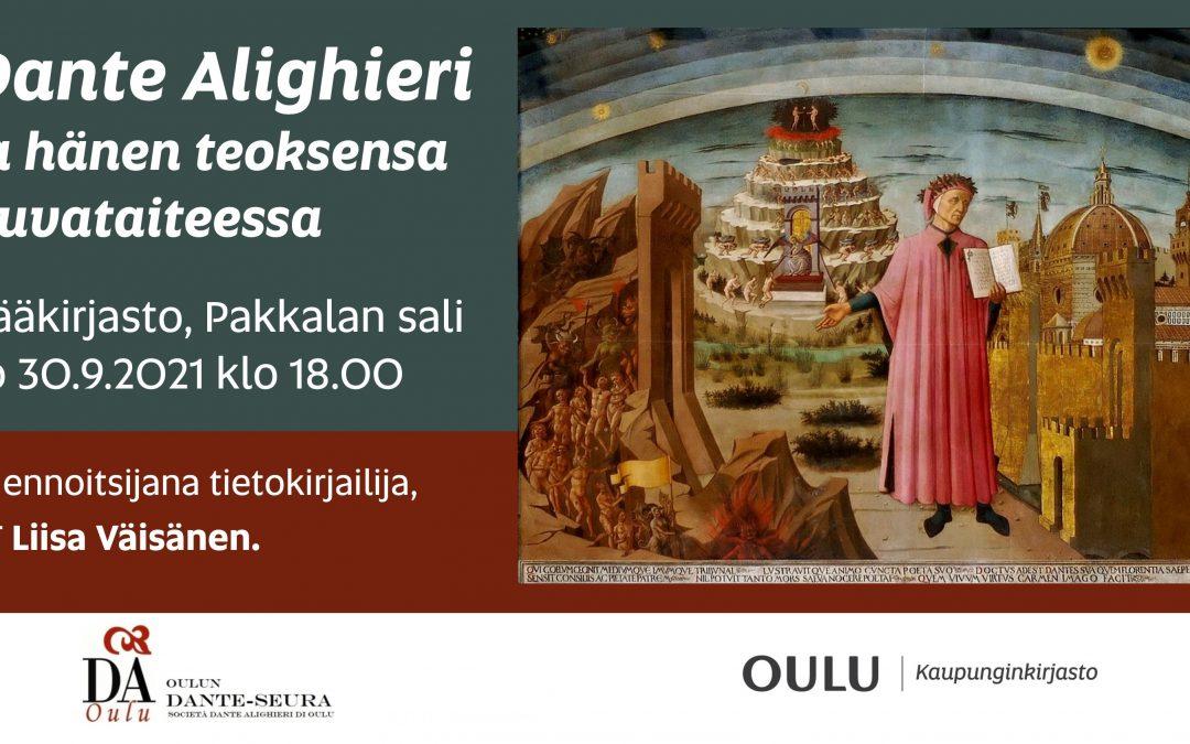 Dante kuvataiteessa, Liisa Väisänen 30.9.2021