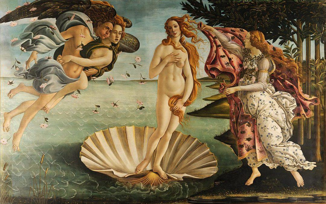 Maamerkkejä Italian taidehistoriassa